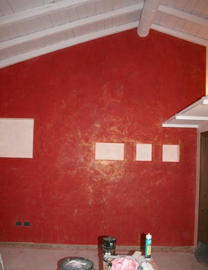 Tinteggiature interni mauro frassine tinteggiature for Grassello di calce spatolato